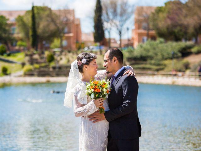 La boda de Orlando y Liset en Valdemoro, Madrid 1