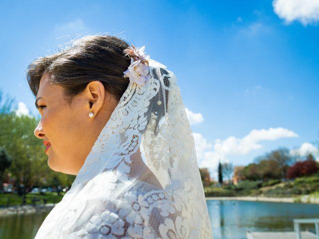 La boda de Orlando y Liset en Valdemoro, Madrid 15