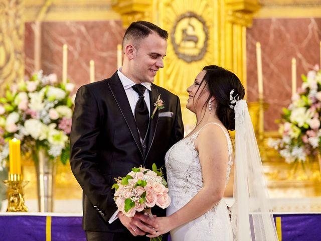 La boda de Jose Mª y Fina en El Raal, Murcia 48