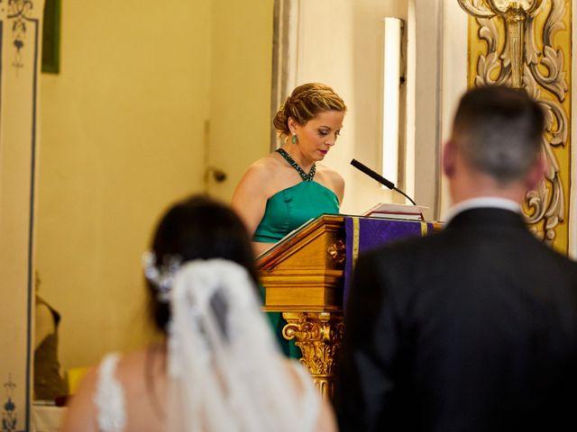 La boda de Jose Mª y Fina en El Raal, Murcia 58