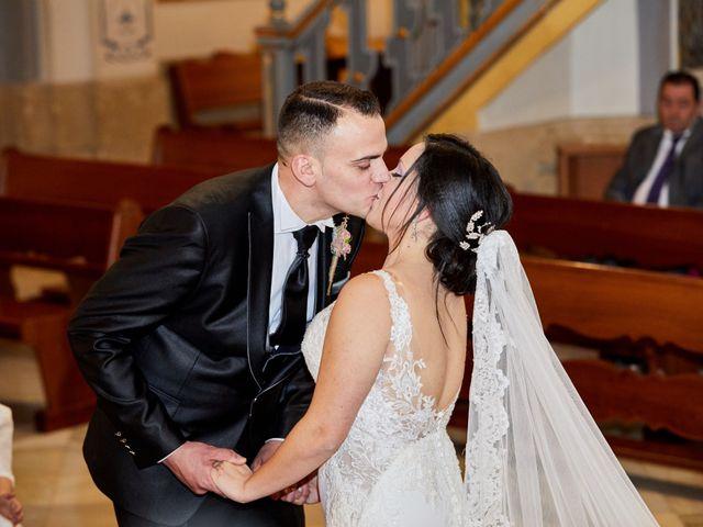 La boda de Jose Mª y Fina en El Raal, Murcia 61