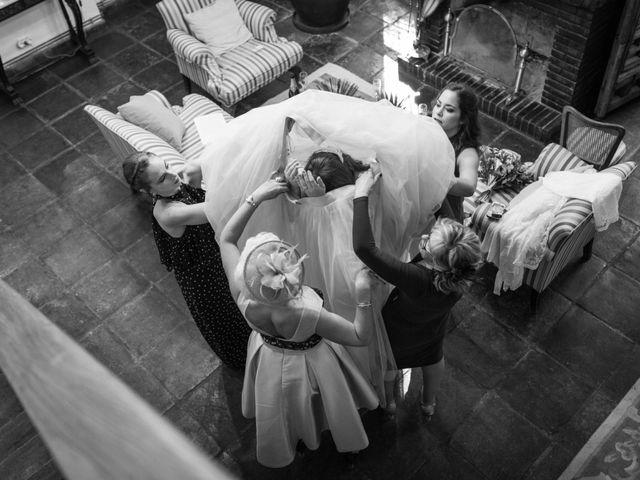 La boda de German y Bea en Chinchon, Madrid 4