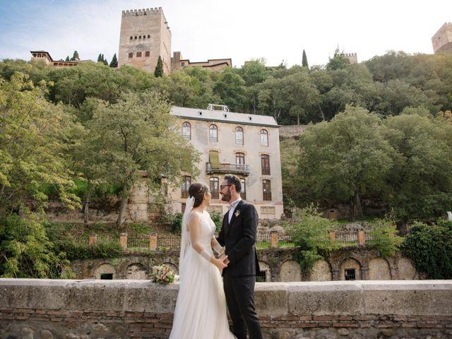 La boda de Walter y Estefanía en Granada, Granada 35