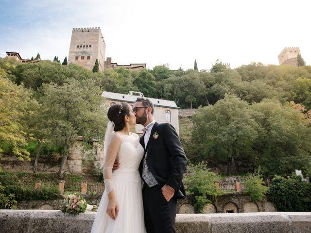 La boda de Walter y Estefanía en Granada, Granada 36