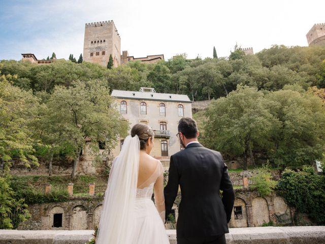 La boda de Walter y Estefanía en Granada, Granada 38