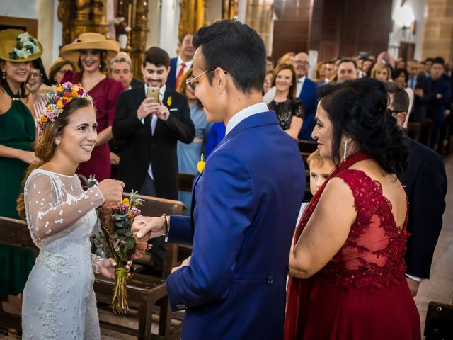 La boda de Cristian y Valle en Almendralejo, Badajoz 9