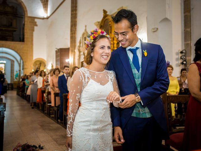 La boda de Cristian y Valle en Almendralejo, Badajoz 10