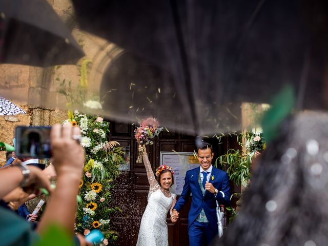 La boda de Cristian y Valle en Almendralejo, Badajoz 13
