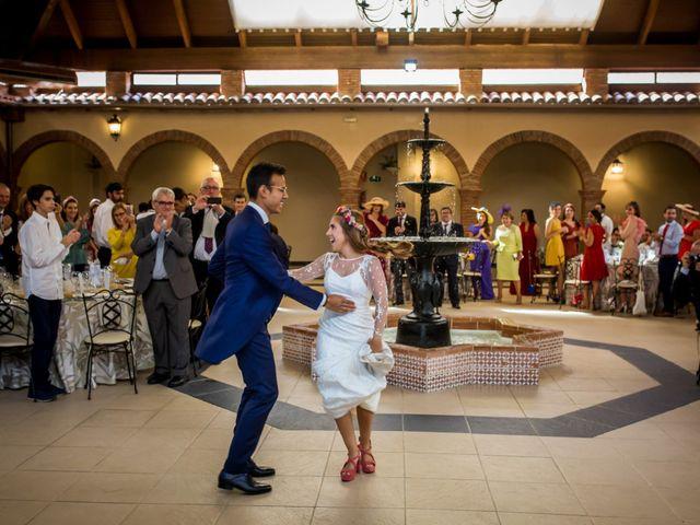 La boda de Cristian y Valle en Almendralejo, Badajoz 19