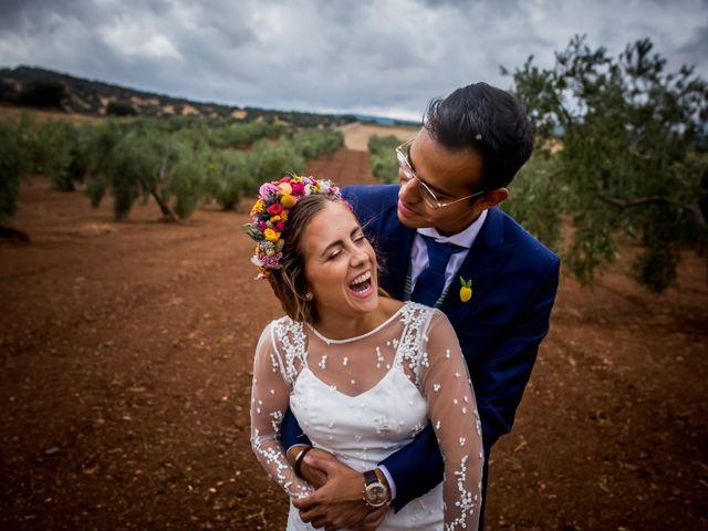 La boda de Cristian y Valle en Almendralejo, Badajoz 28