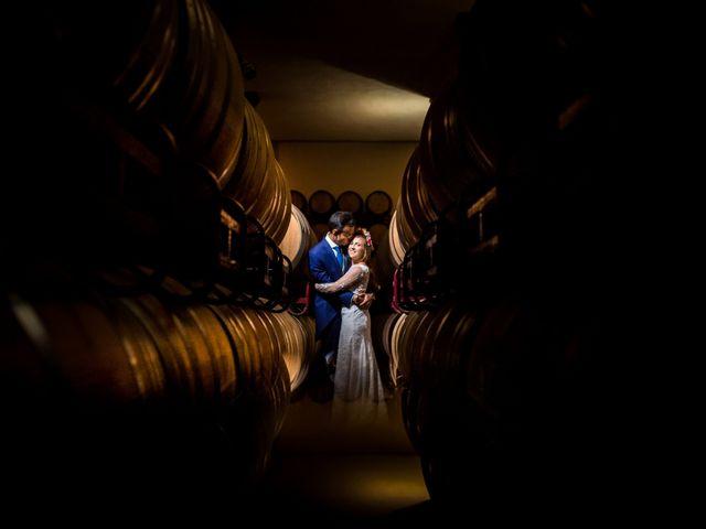 La boda de Cristian y Valle en Almendralejo, Badajoz 29