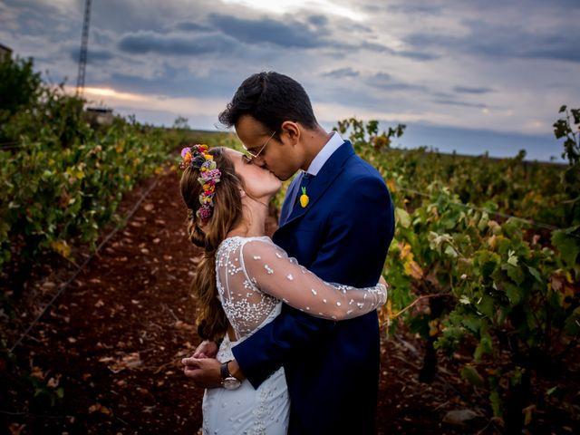 La boda de Cristian y Valle en Almendralejo, Badajoz 31