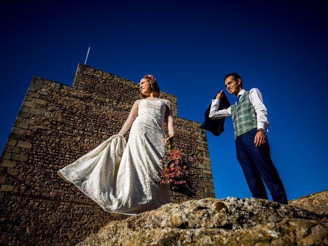 La boda de Cristian y Valle en Almendralejo, Badajoz 33