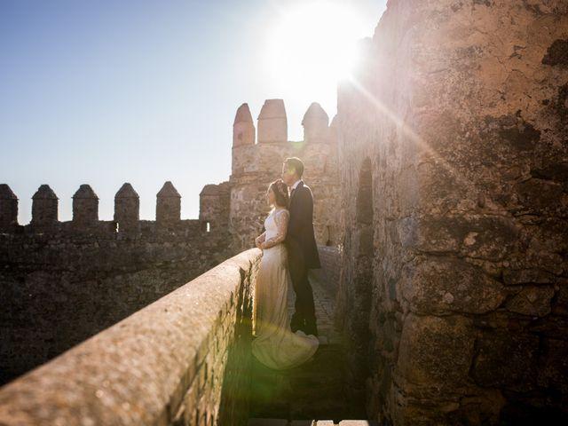 La boda de Cristian y Valle en Almendralejo, Badajoz 37