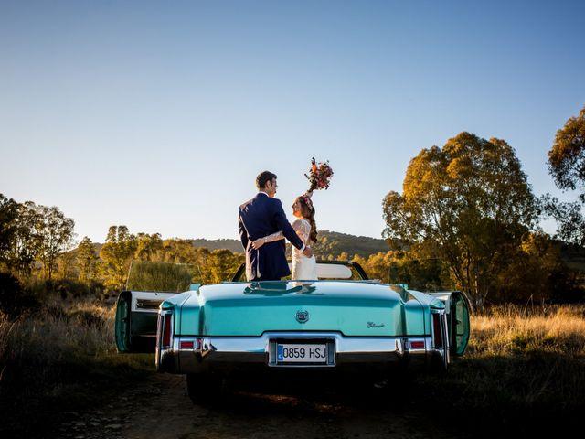 La boda de Cristian y Valle en Almendralejo, Badajoz 46