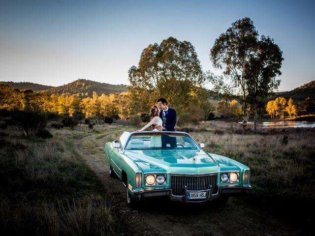 La boda de Cristian y Valle en Almendralejo, Badajoz 49