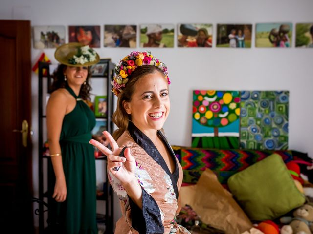 La boda de Cristian y Valle en Almendralejo, Badajoz 61