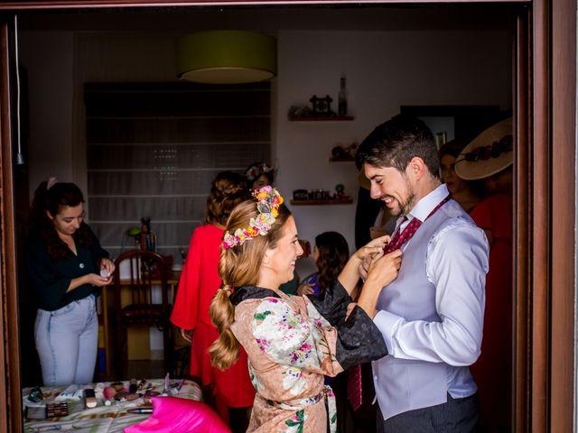 La boda de Cristian y Valle en Almendralejo, Badajoz 65