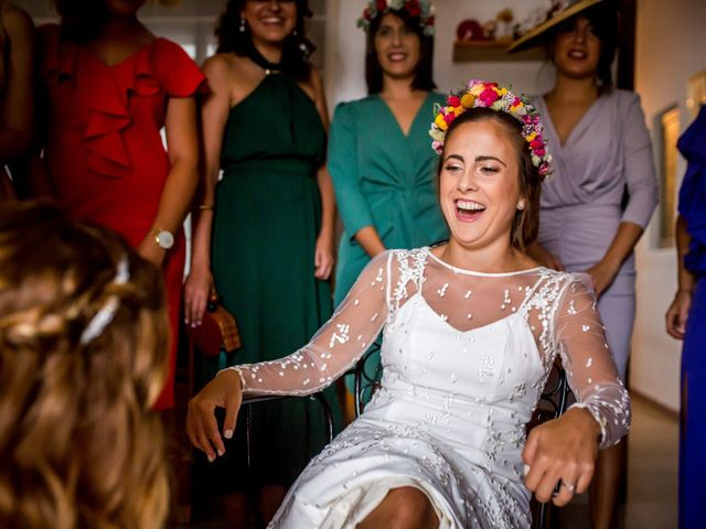 La boda de Cristian y Valle en Almendralejo, Badajoz 68