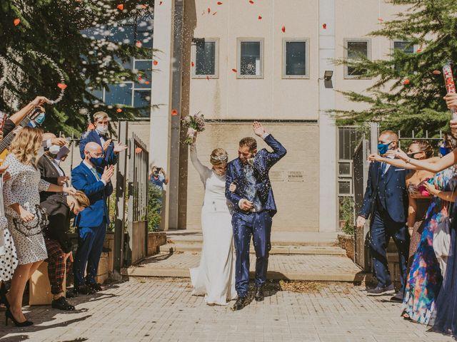 La boda de Belén Valenzuela y Miguel Ordoñez