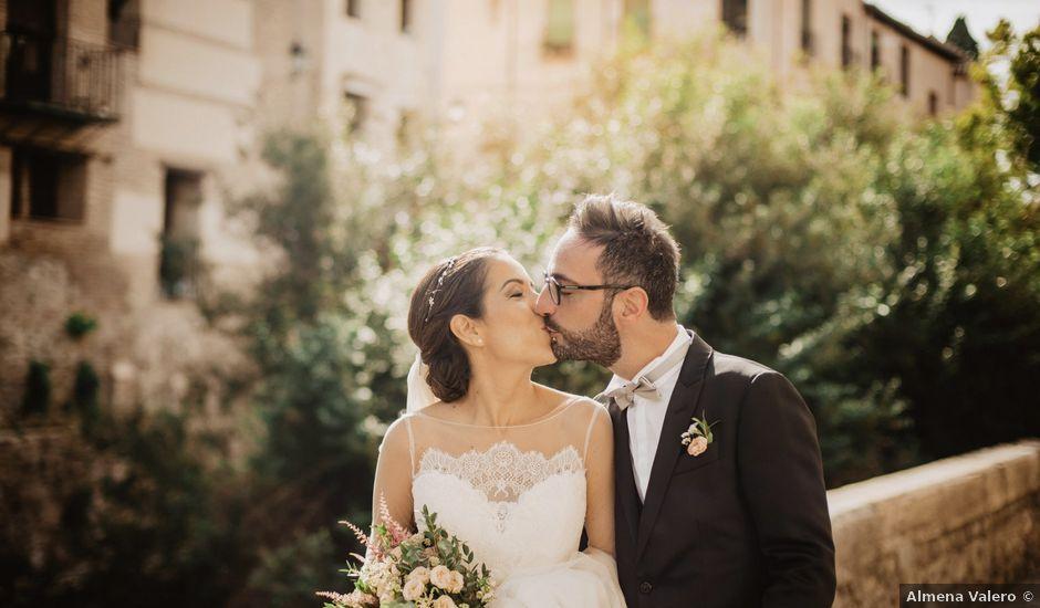 La boda de Walter y Estefanía en Granada, Granada