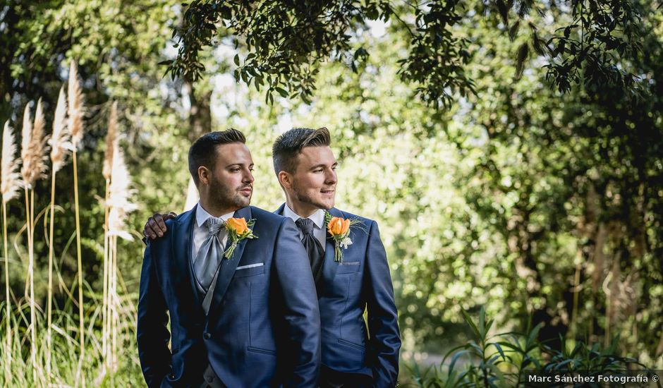 La boda de Xavi y Jonatan en Castellar Del Valles, Barcelona