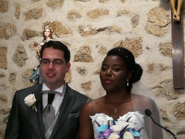 La boda de David y Pilar en La Navata, Madrid 1