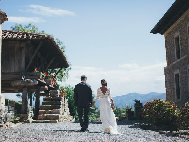 La boda de Oscar y Xana en Cereceda (Villamayor), Asturias 39
