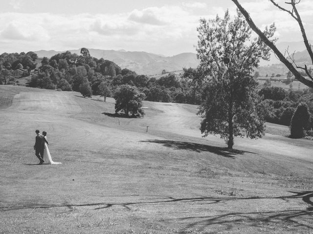 La boda de Oscar y Xana en Cereceda (Villamayor), Asturias 45
