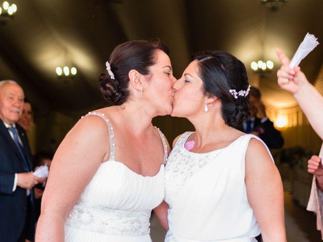 La boda de Estela y Monica