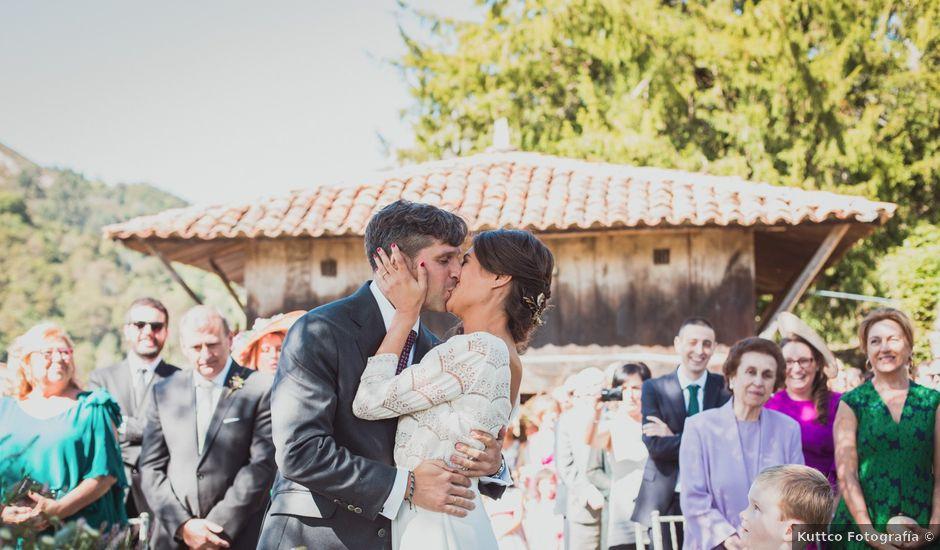 La boda de Oscar y Xana en Cereceda (Villamayor), Asturias