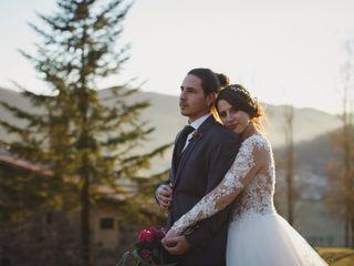 La boda de Aïda y David
