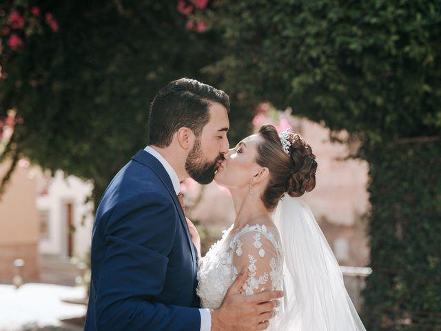 La boda de Jose y Alesia en Alhama De Almeria, Almería 95