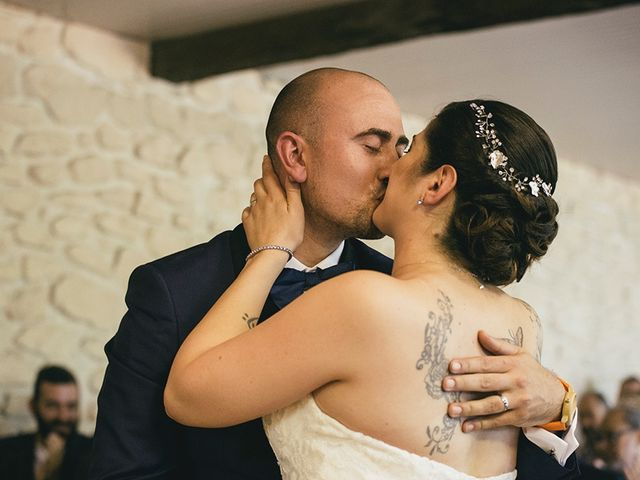 La boda de Aïna  y Genís