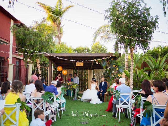 La boda de Pedro y Sabina en Almoradí, Alicante 1