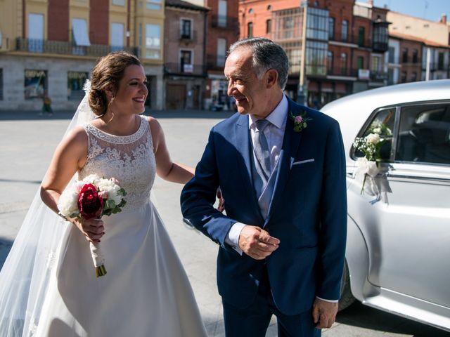 La boda de Diego y Alicia en Medina Del Campo, Valladolid 22