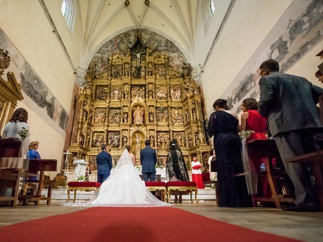 La boda de Diego y Alicia en Medina Del Campo, Valladolid 25