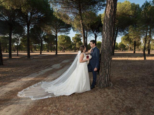 La boda de Diego y Alicia en Medina Del Campo, Valladolid 40