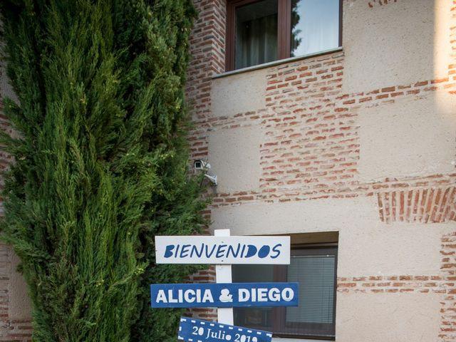 La boda de Diego y Alicia en Medina Del Campo, Valladolid 41