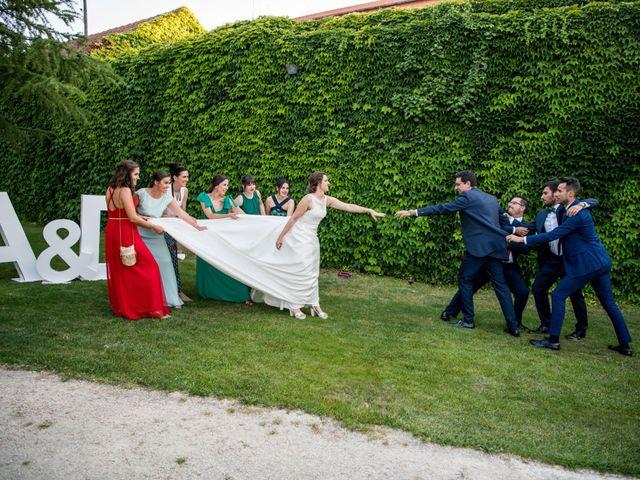 La boda de Diego y Alicia en Medina Del Campo, Valladolid 44