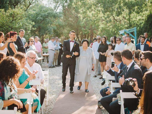 La boda de Santi y Alexia en Riudoms, Tarragona 9