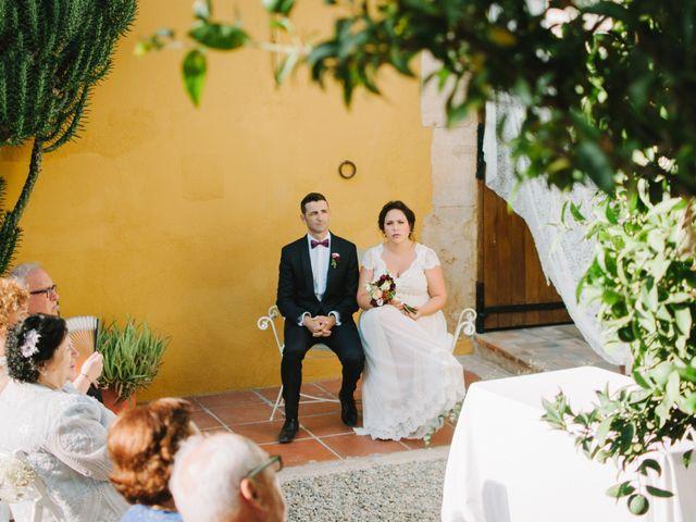 La boda de Santi y Alexia en Riudoms, Tarragona 11