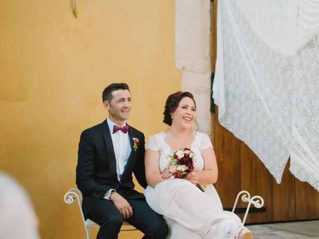 La boda de Santi y Alexia en Riudoms, Tarragona 12