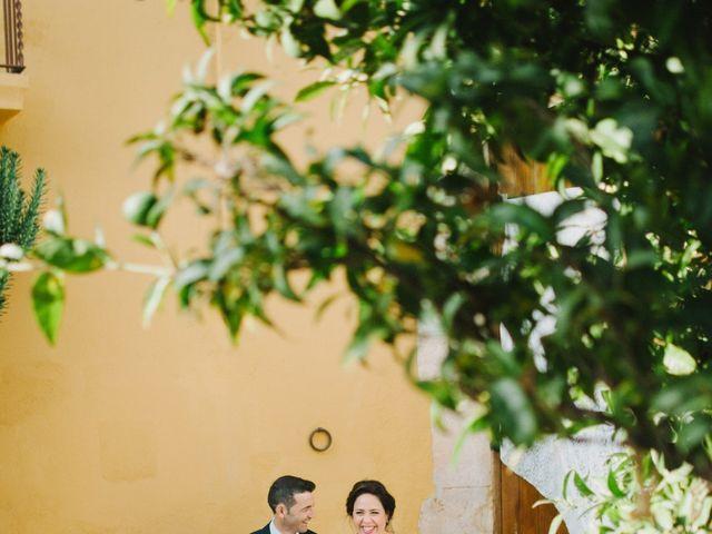 La boda de Santi y Alexia en Riudoms, Tarragona 13