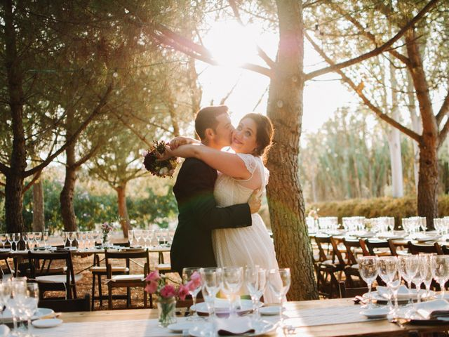 La boda de Santi y Alexia en Riudoms, Tarragona 16