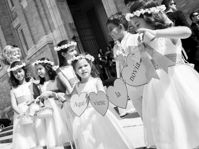 La boda de José Ángel y Vanesa en Calatayud, Zaragoza 18