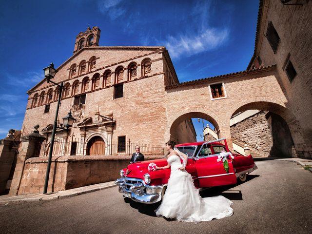 La boda de José Ángel y Vanesa en Calatayud, Zaragoza 32