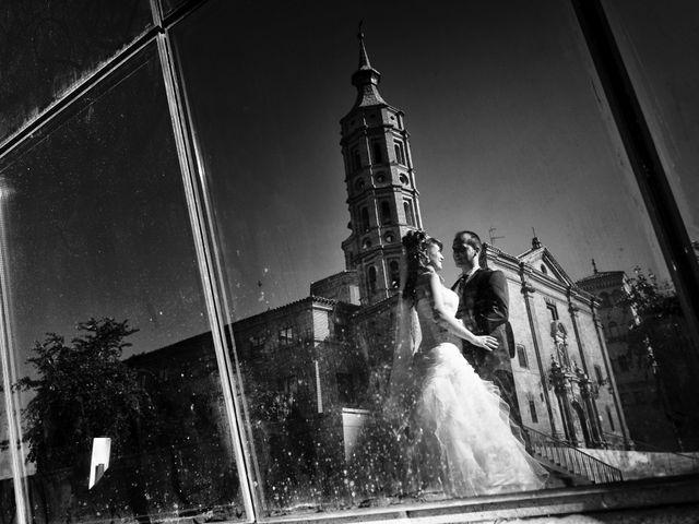 La boda de José Ángel y Vanesa en Calatayud, Zaragoza 40