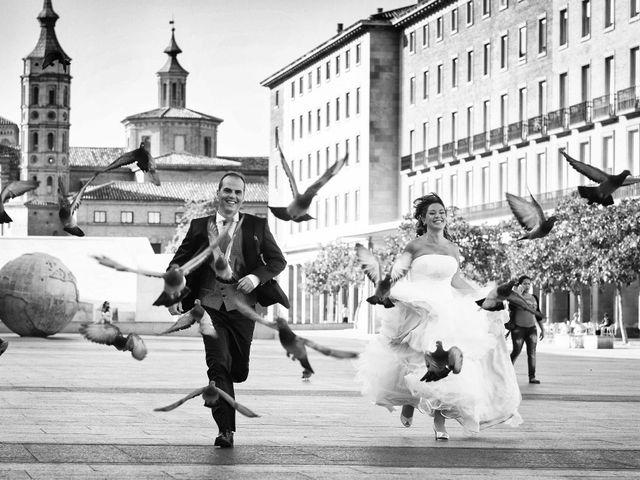 La boda de José Ángel y Vanesa en Calatayud, Zaragoza 43