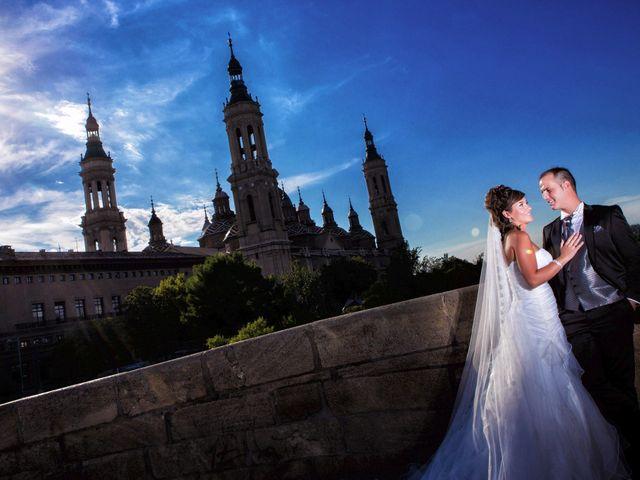 La boda de José Ángel y Vanesa en Calatayud, Zaragoza 45